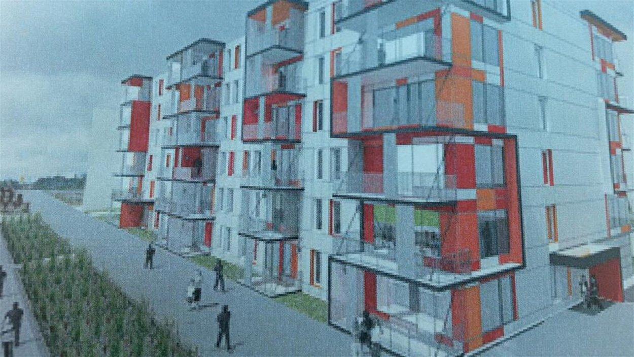 Projet de logements abordables à Pointe-aux-Lièvres
