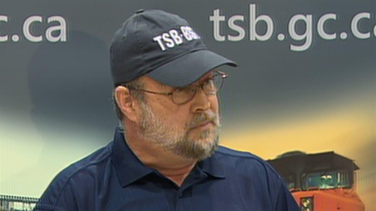 Le gestionnaire du BST pour l'Est du Canada, Ed Belkaloul