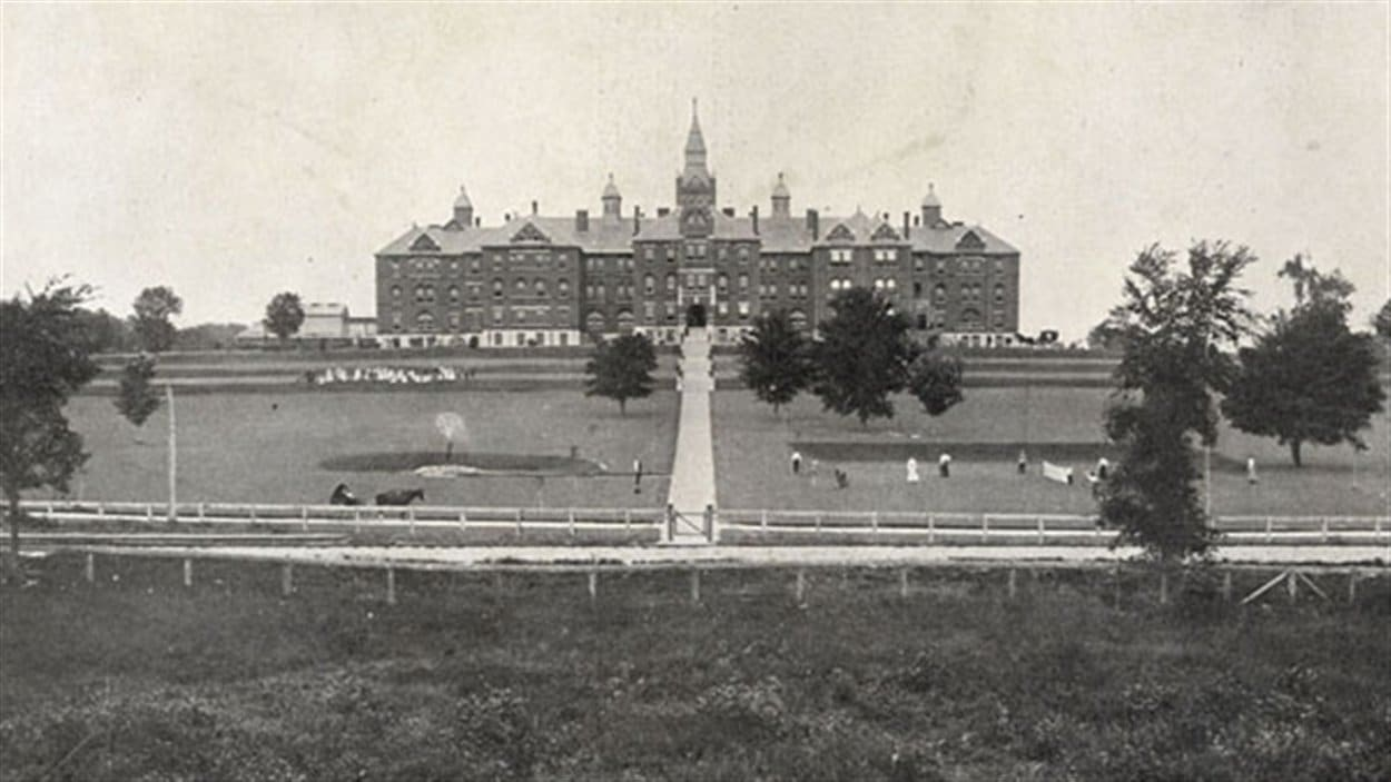 Photo d'archive du Centre Huronia à Orillia