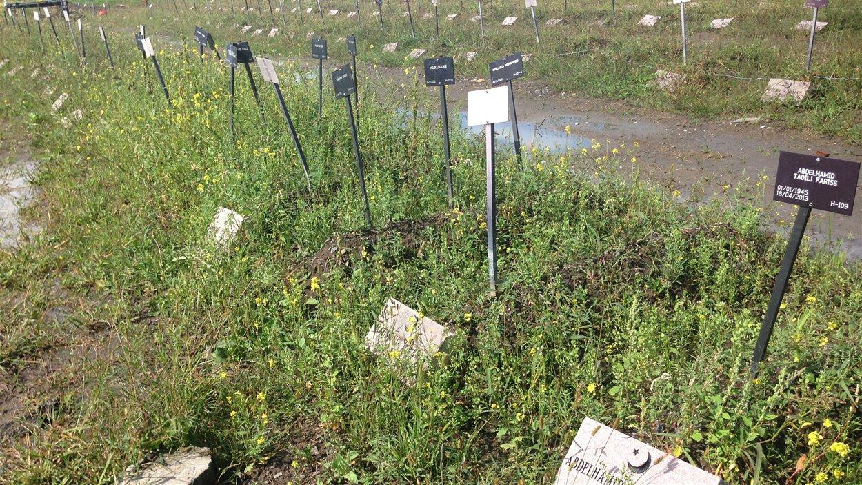 Le cimetière islamique du Québec, à Laval