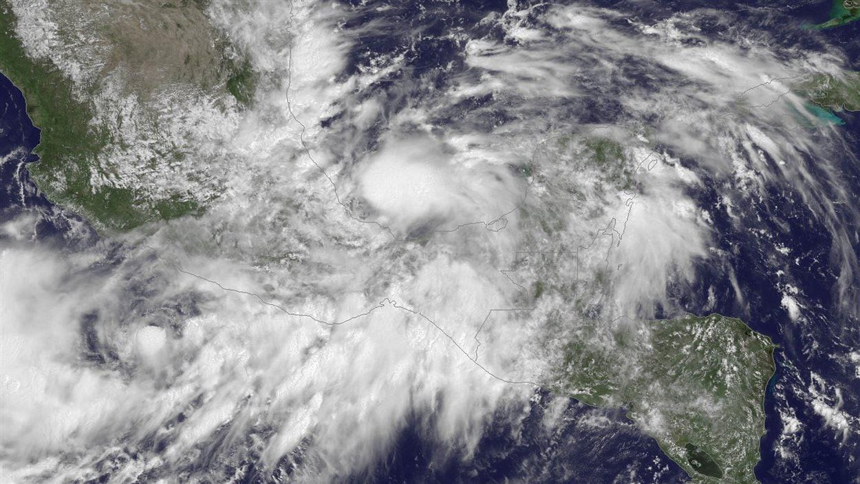 La tempête tropicale Ingrid s'est transformée samedi en ouragan de catégorie 1.