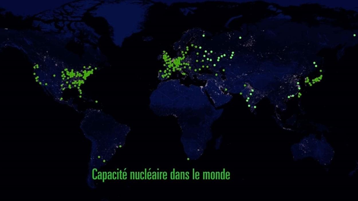 La capacité nucléaire dans le monde