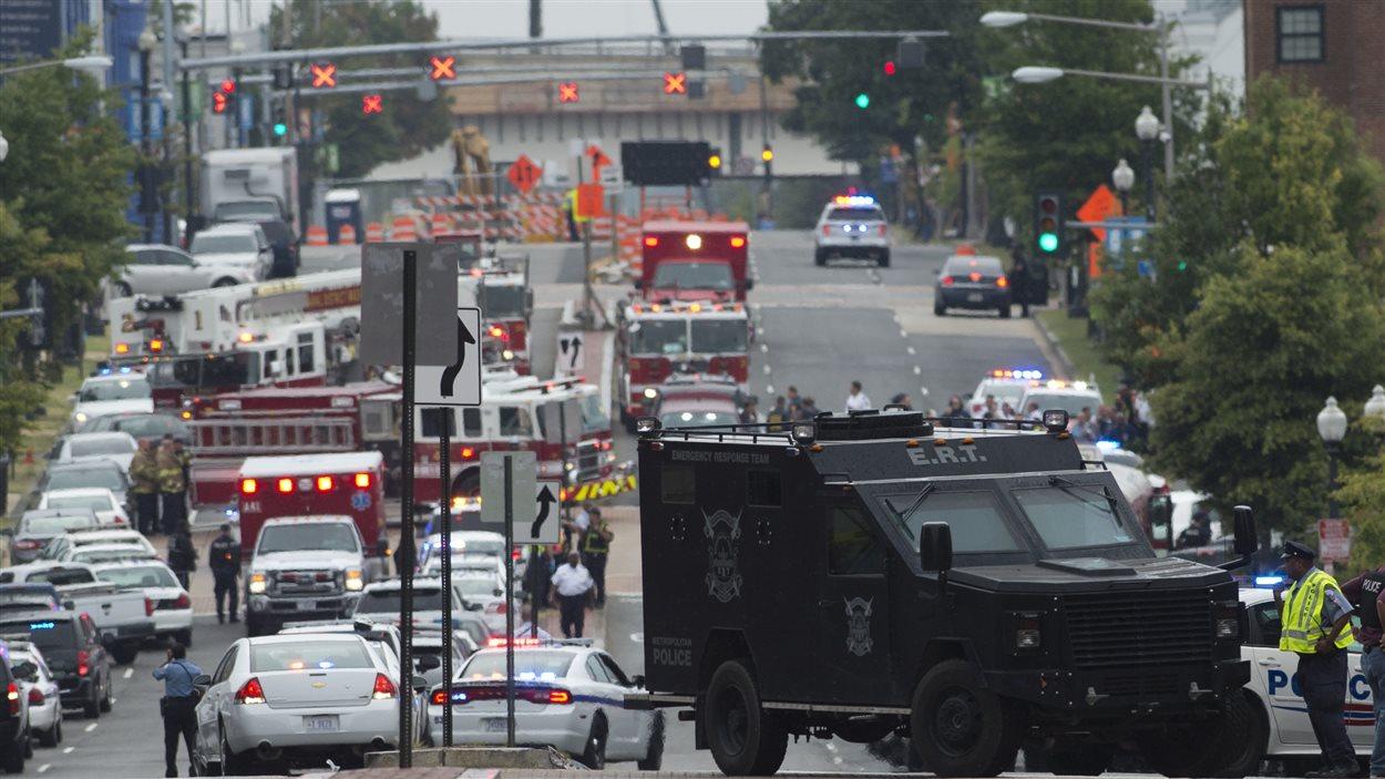 Fusillade sur la site de la Navy Yard à Washington