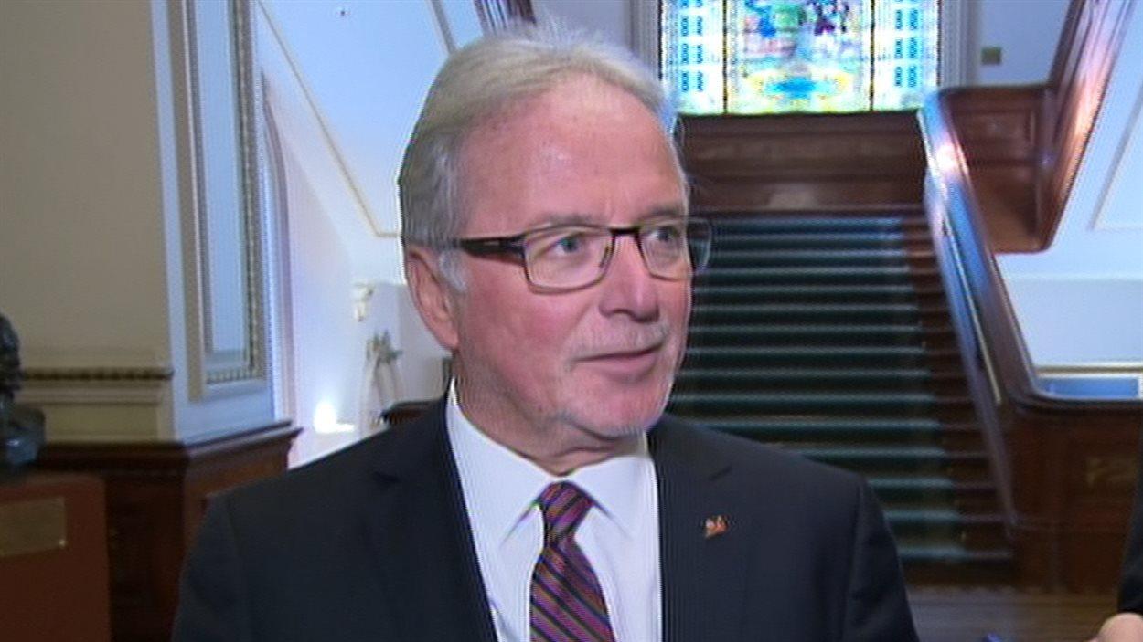 Le président du Collège des médecins du Québec, Charles Bernard