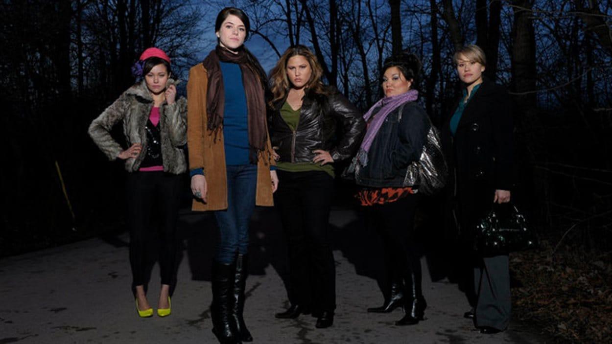 La série Mohawk girls