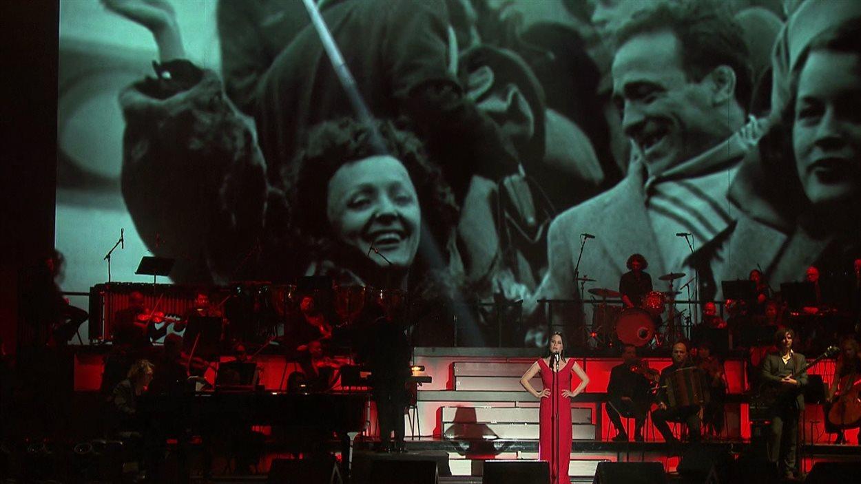 Édith Piaf est ressuscitée pour un soir aux Francopholies de New York.