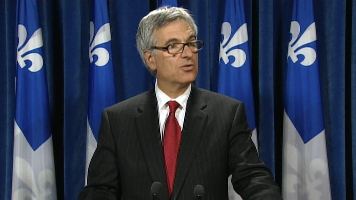 Le chef de l'opposition officielle, le député libéral Jean-Marc Fournier