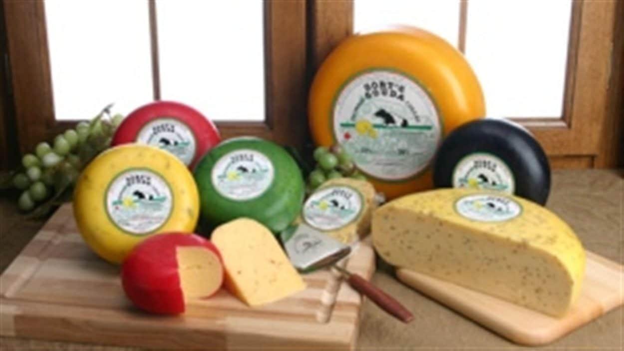 Des fromages de la ferme Gort's Gouda Cheese