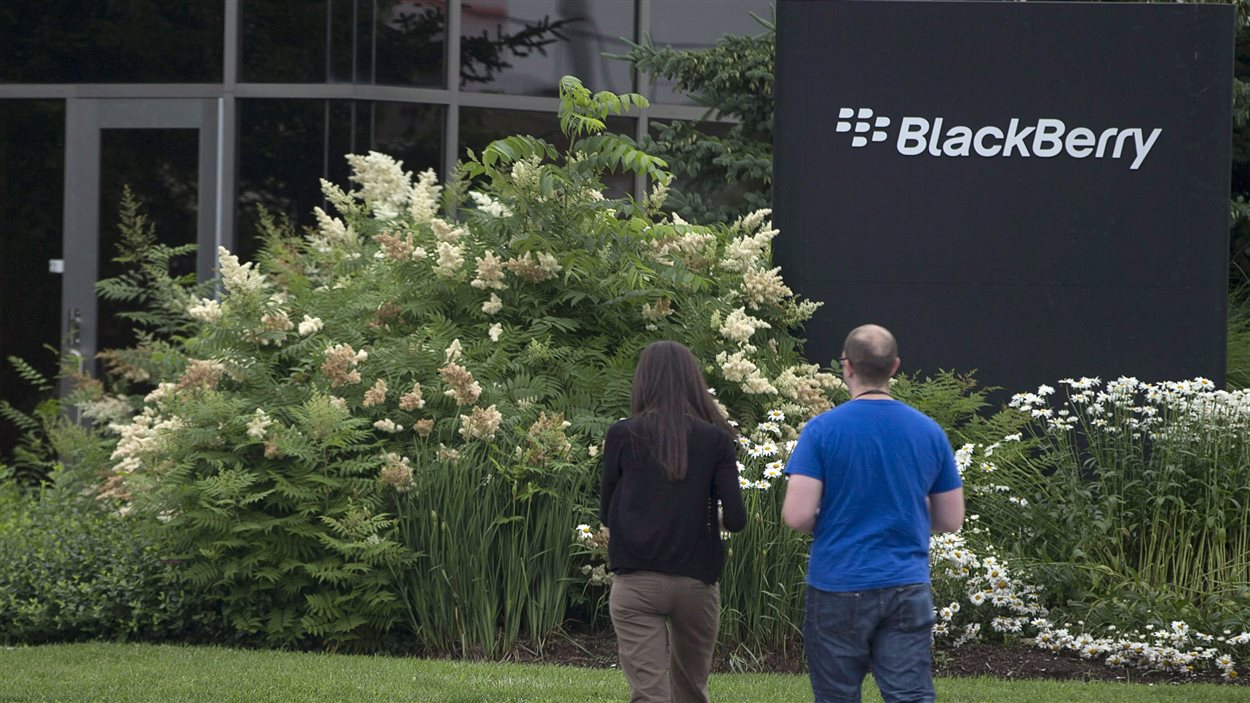 Le siège de BlackBerry à Waterloo en Ontario