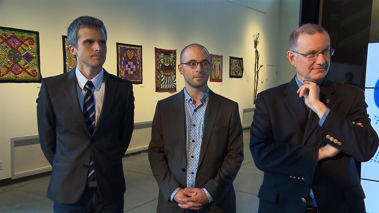 Nic Payne, Sol Zanetti et Jean-Claude St-André