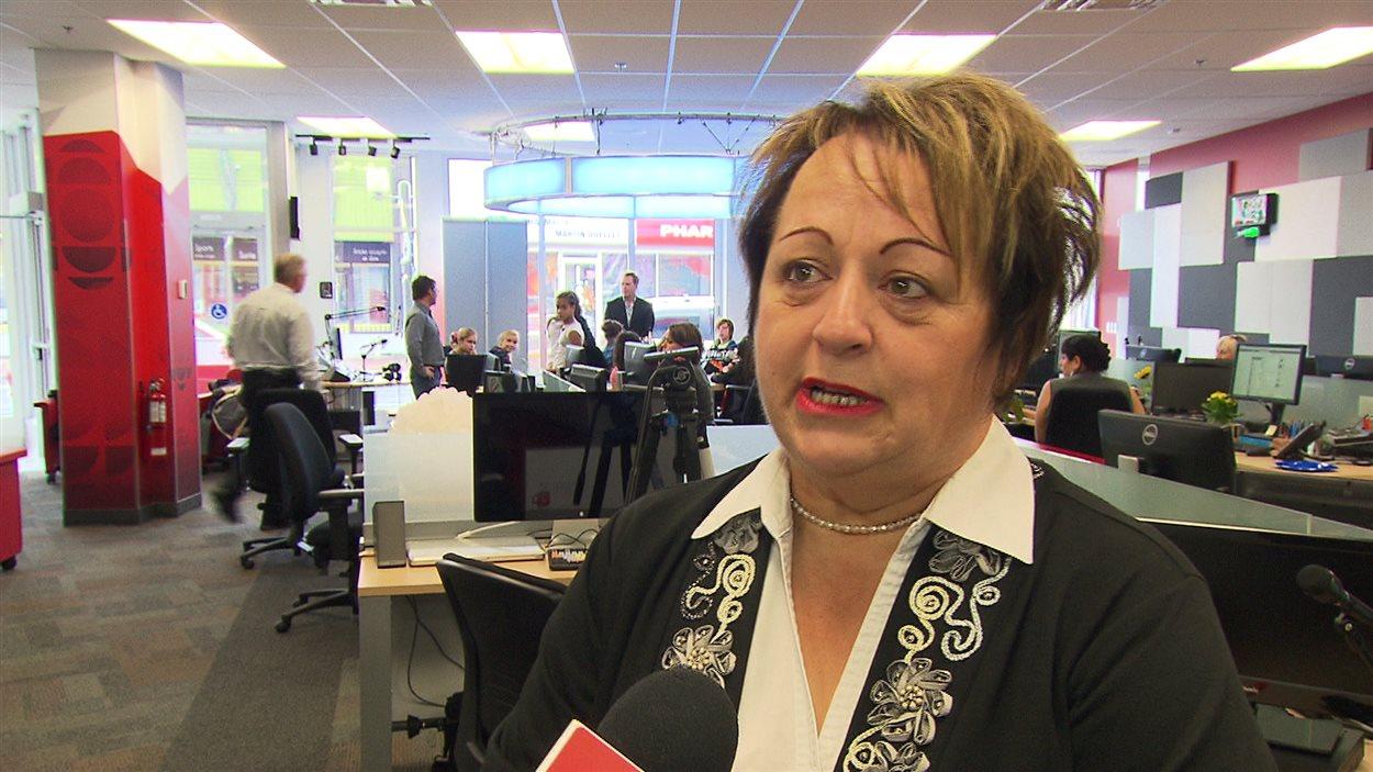 France Caron, candidate à la mairie de Matane