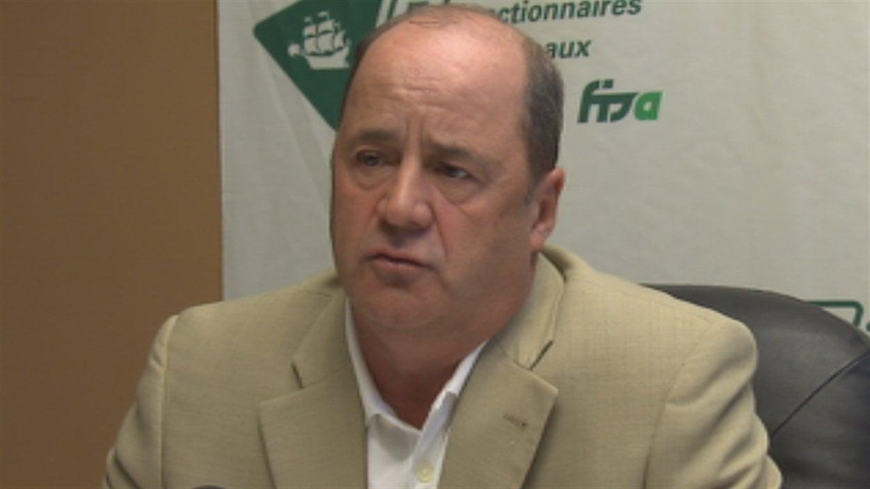 Jean Gagnon, président du Syndicat des fonctionnaires municipaux de la Ville de Québec.