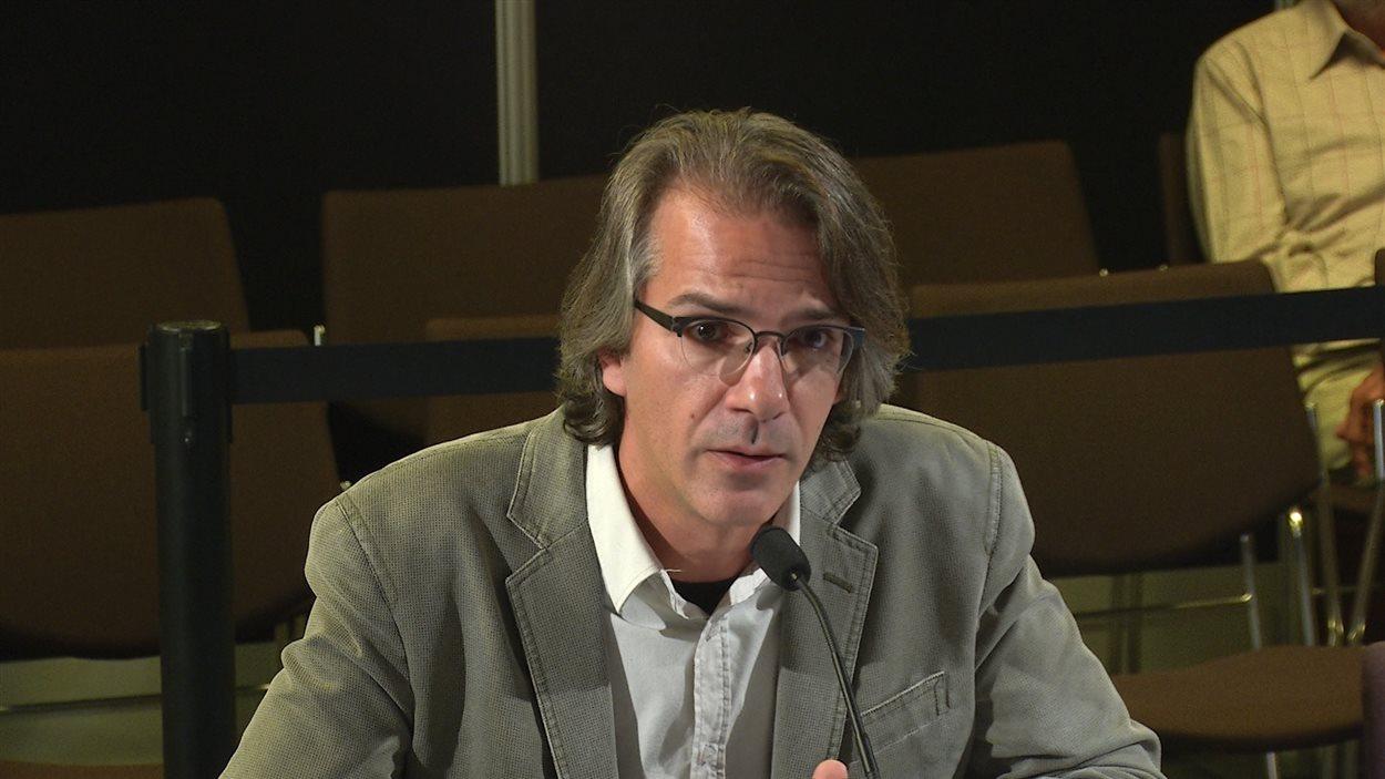 Mario Beauchemin, président de la Fédération des enseignantes et enseignants de cégep
