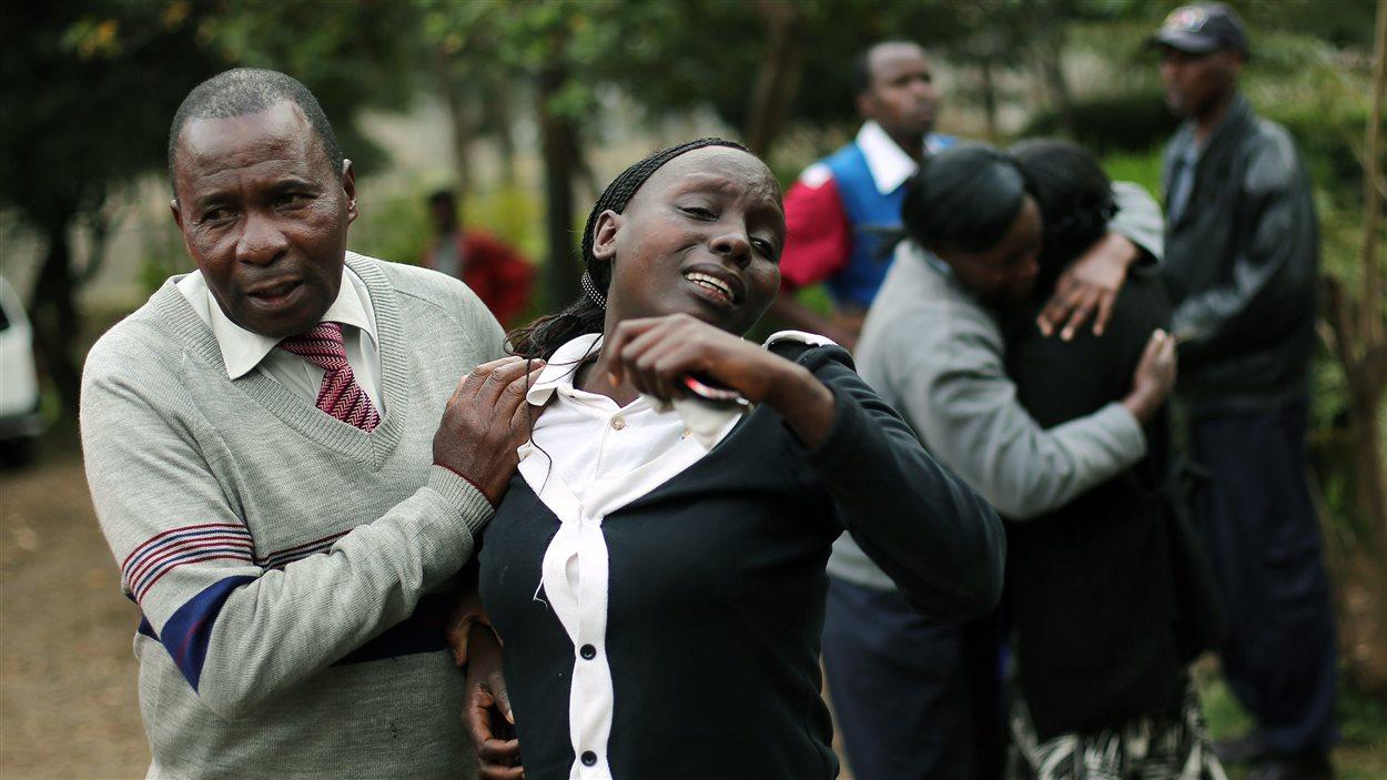Des proches de Johnny Mutinda Musango, 48 ans, viennent d'identifer son corps à la morque de Nairobi. L'homme a péri lors de l'attaque du Westgate par un commando islamiste.