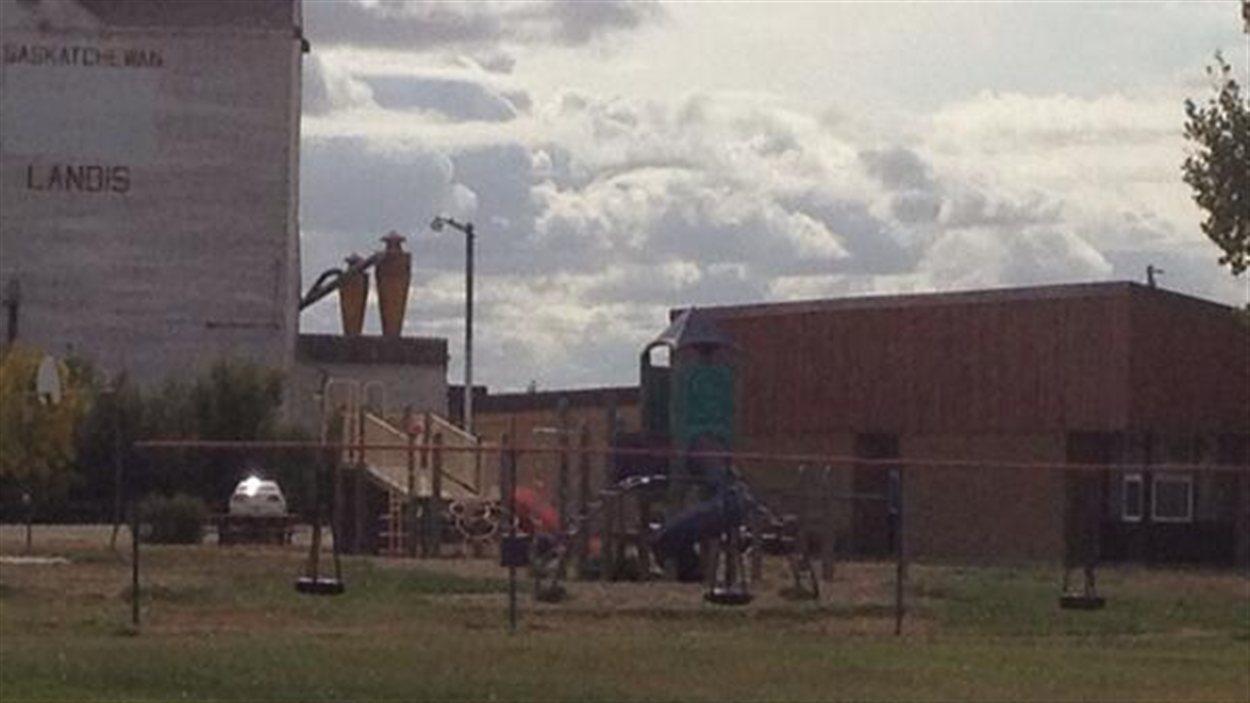 L'école de Landis demeure fermée pour la journée par mesure de précaution.