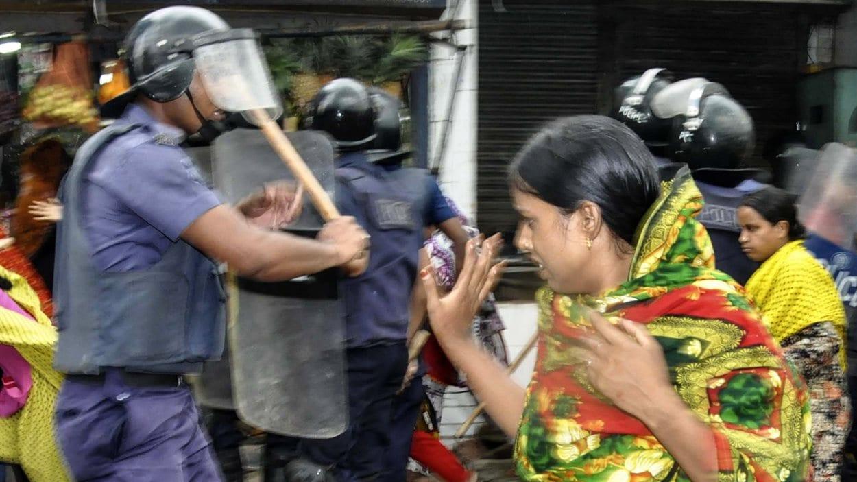 Manifestation au Bangladesh