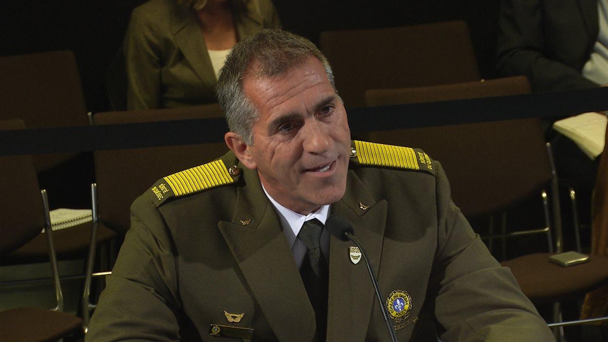 Mario Laprise, directeur de la Sûreté du Québec