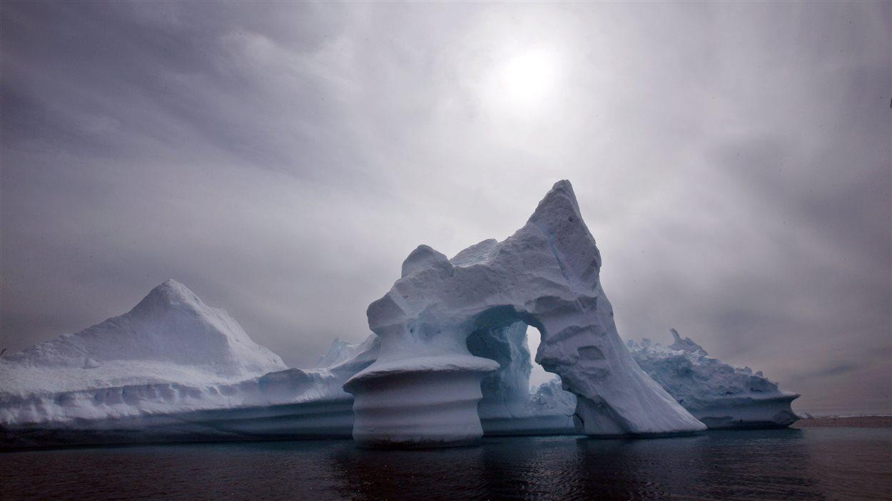 Un iceberg au large du Groenland, en 2007