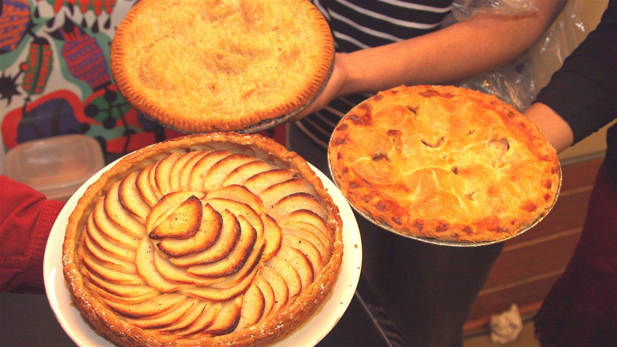Les tartes aux pommes de l'équipe