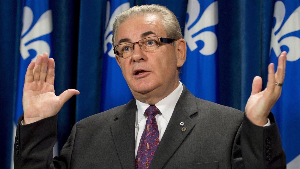 Jacques Duchesneau commente l'affaire Boisclair, le 25 septembre 2013.