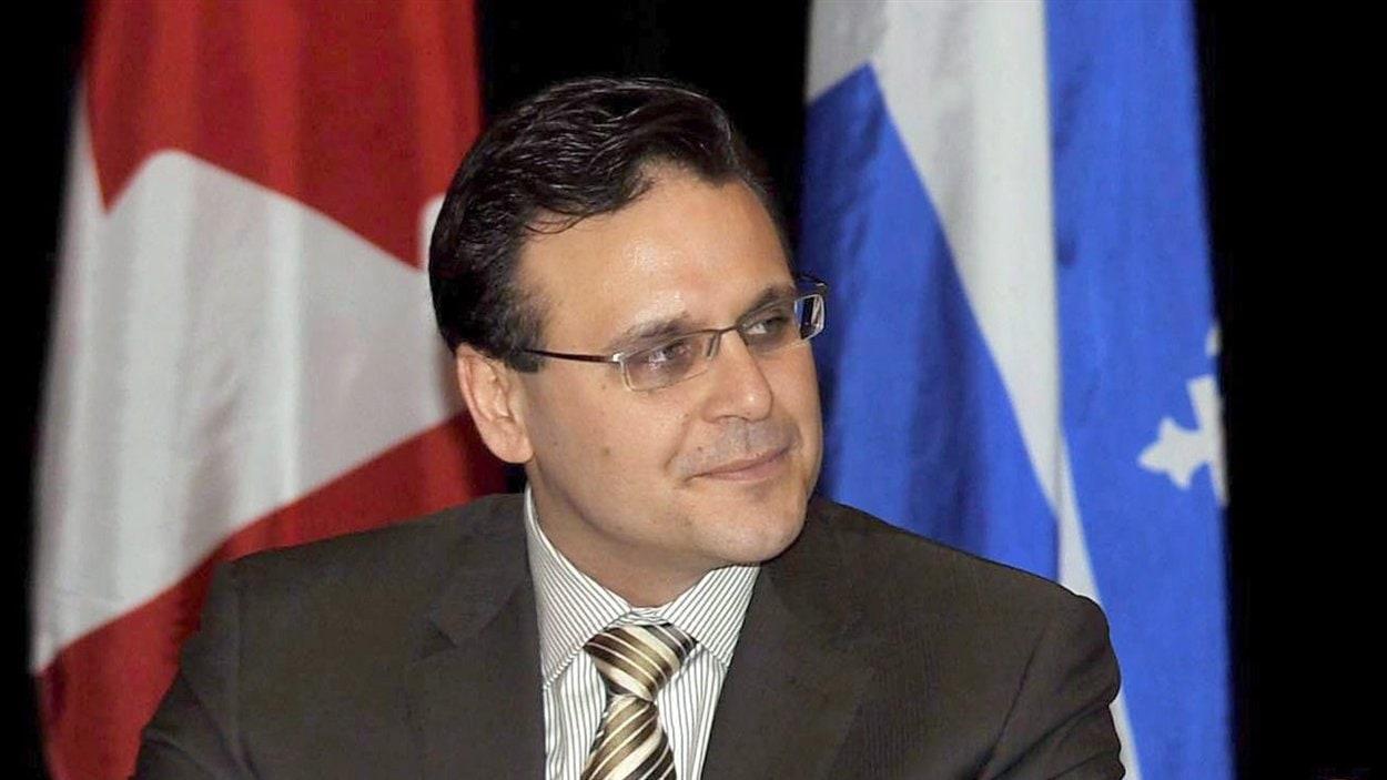 Le sénateur conservateur Léo Housakos à Montréal le 9 janvier 2009.