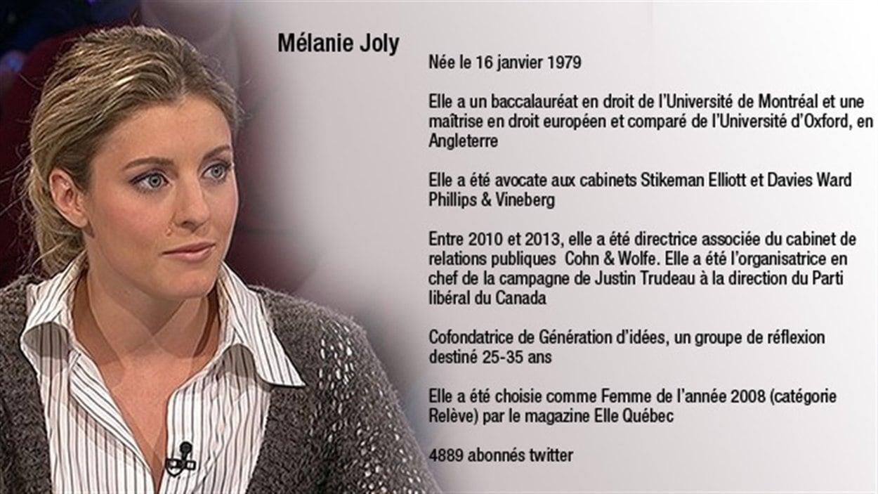 La candidate à la mairie de Montréal Mélanie Joly