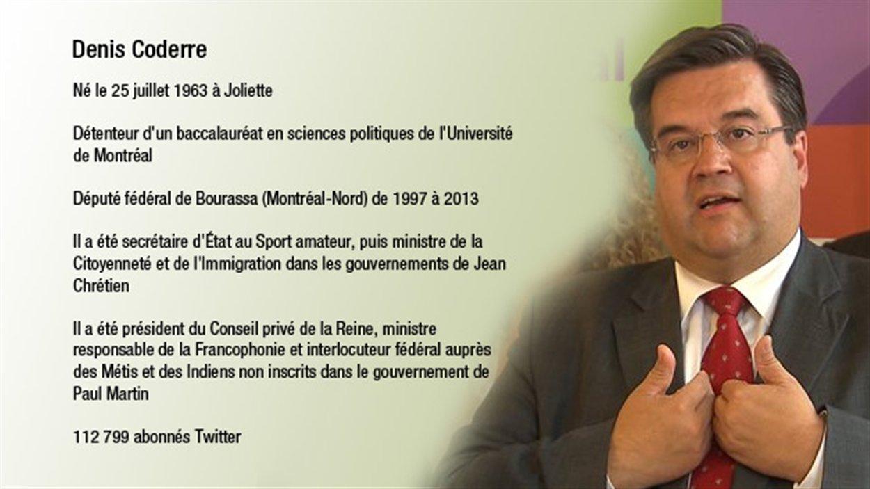 Le candidat à la mairie Denis Coderre