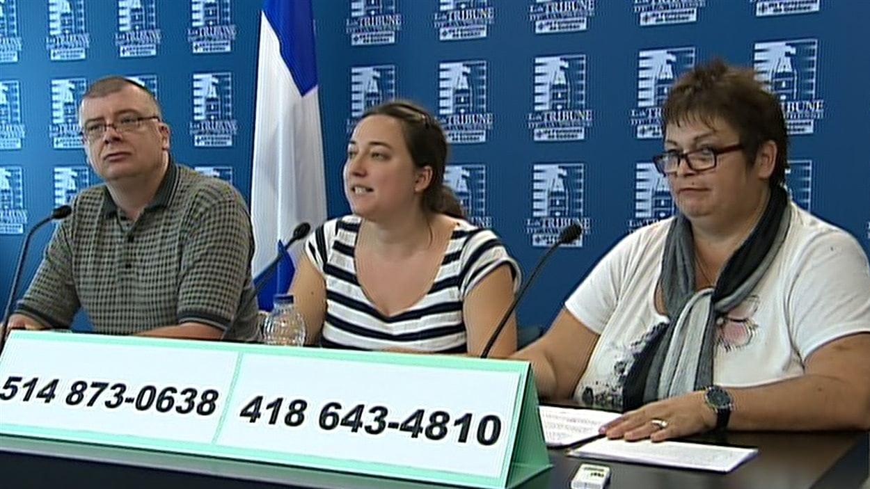 Le Front commun des personnes assistées sociales a invité, jeudi, la population à faire pression sur la ministre Agnès Maltais en téléphonant à ses bureaux.