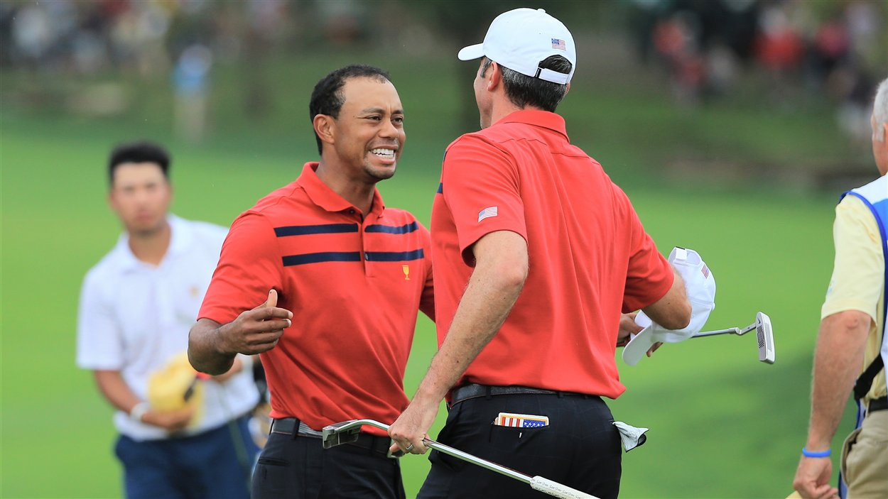 Tiger Woods et Matt Kuchar