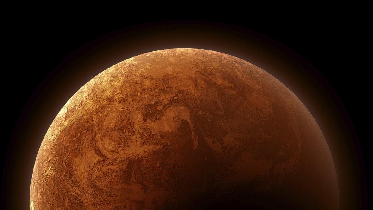 La planète Mars pourrait contenir beaucoup d'eau