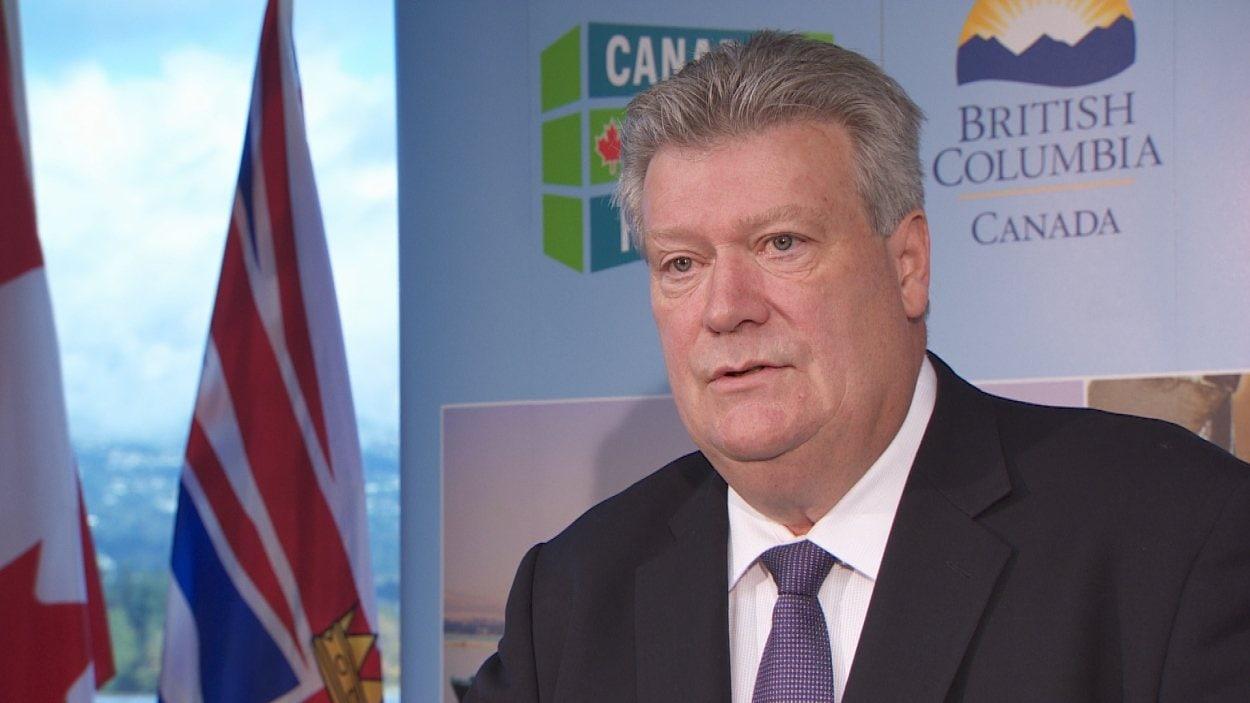 Le ministre de l'Énergie, des Mines et du Gaz naturel Rich Coleman.