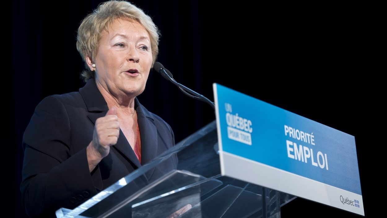 La première ministre Pauline Marois