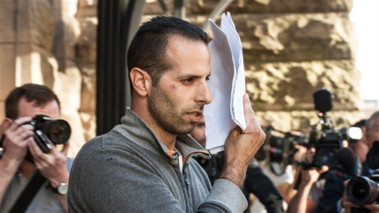 Alessandro Lisi à sa sortie du tribunal mercredi dernier