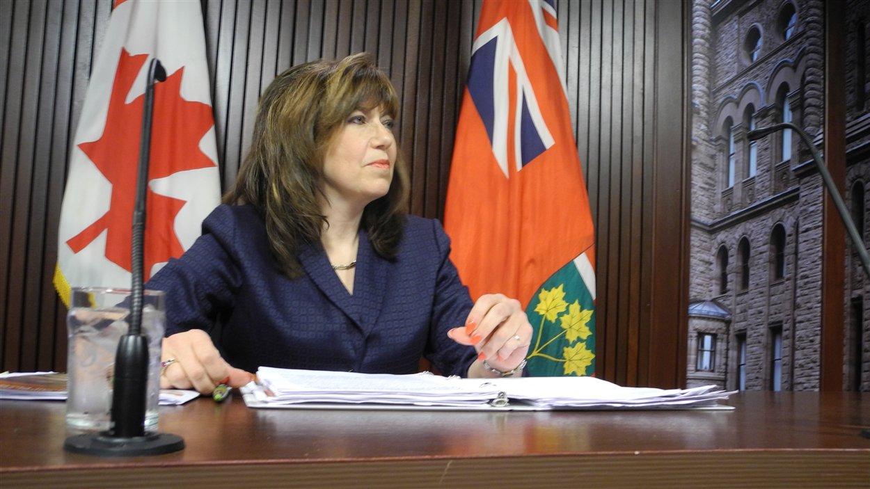 La vérificatrice générale de l'Ontario, Bonnie Lysyk
