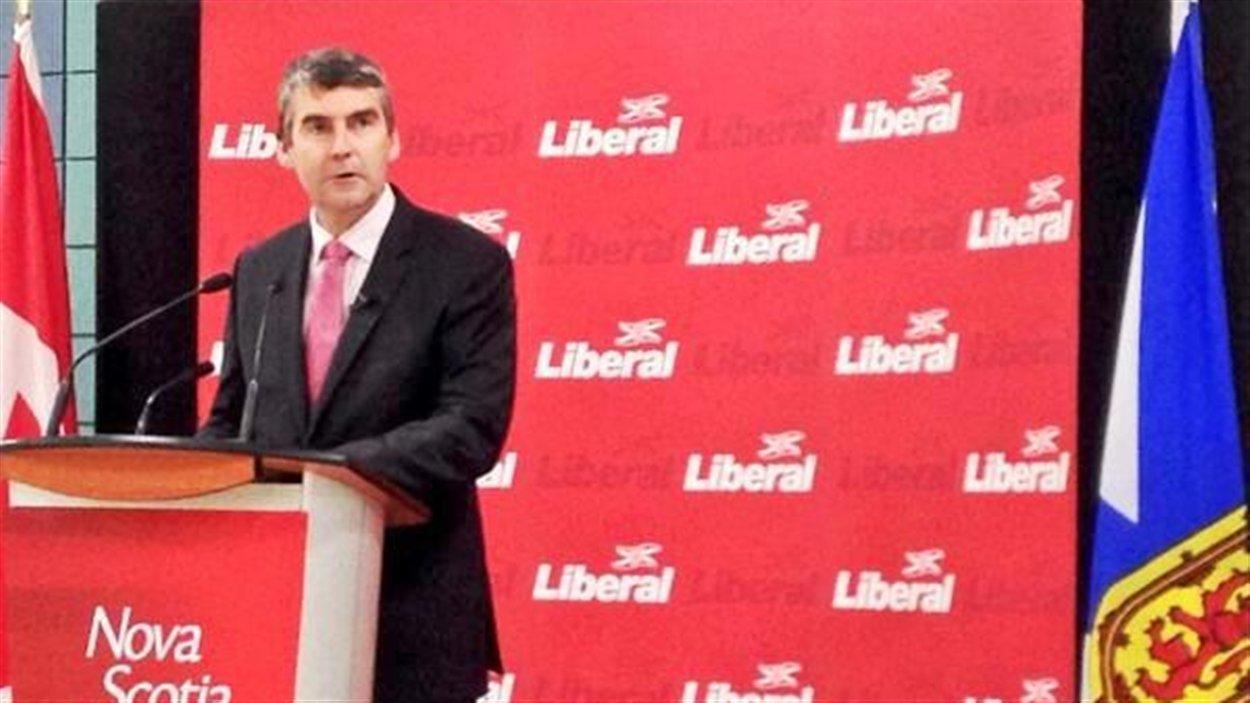 Le chef du Parti libéral de la Nouvelle-Écosse, Stephen McNeil