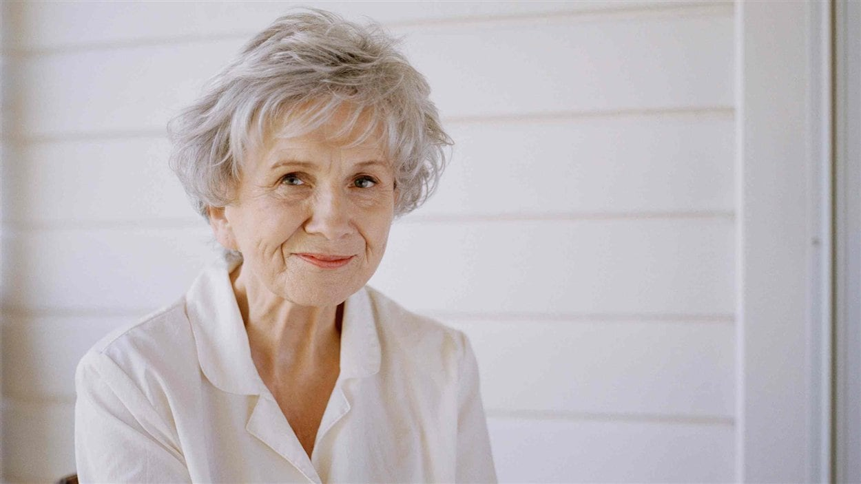 L'écrivaine canadienne Alice Munro
