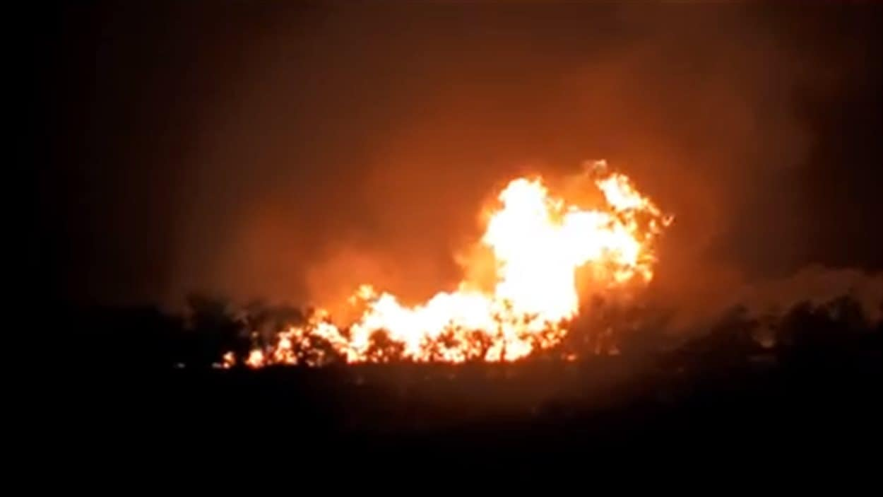 Une explosion dans un pipeline en Oklahoma a entraîné l'évacuation de quelques résidences, mardi soir.