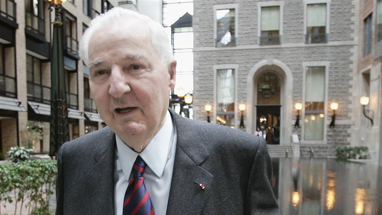 Paul Desmarais en 2007, à Montréal.