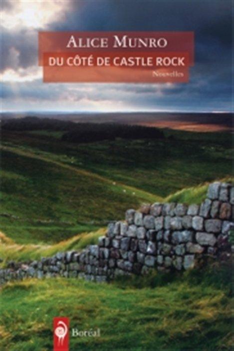 La couverture du recueil de nouvelles d'Alice Munro, Du côté de Castle Rock