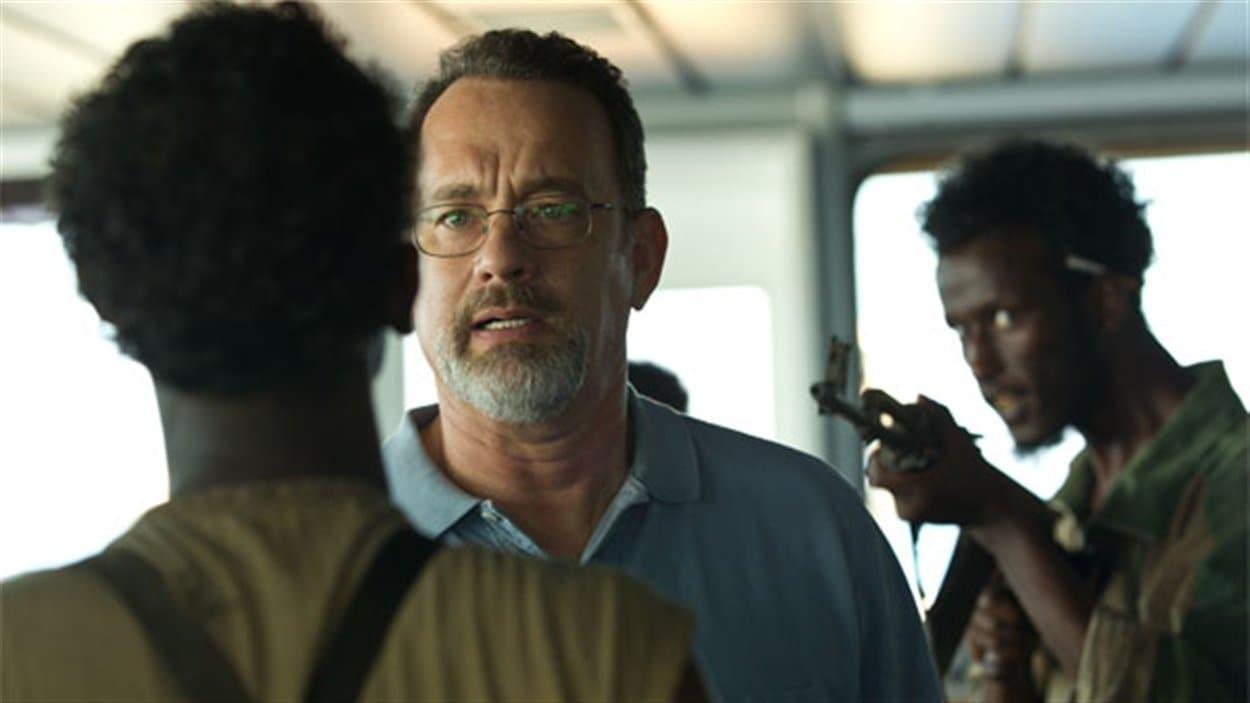 Une scène du film Capitaine Phillips, avec Tom Hanks.