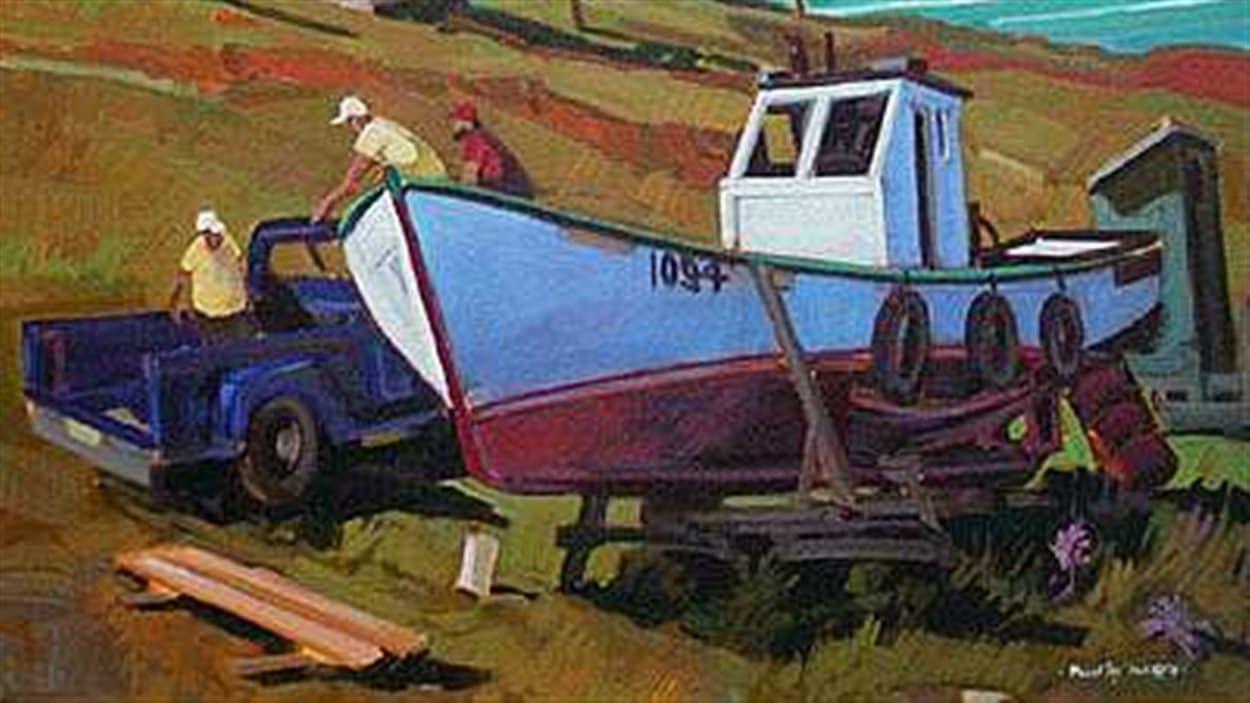 Peinture de Tex Lecor