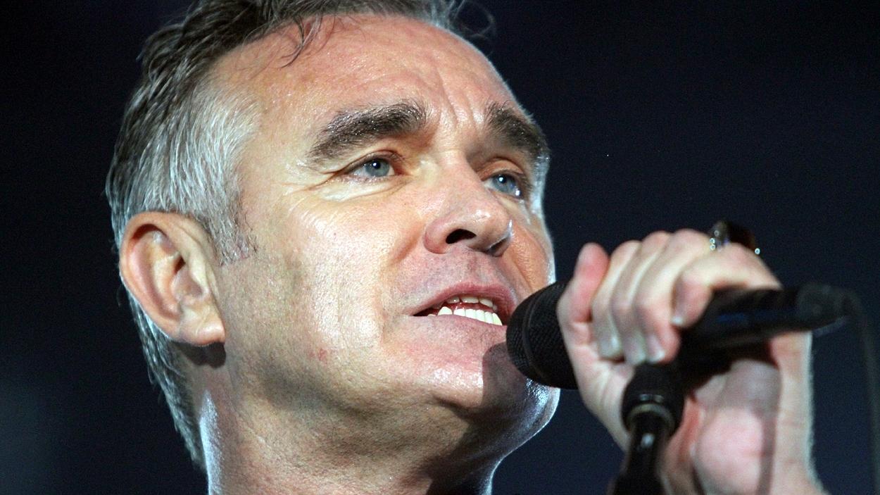 Le chanteur Morrissey.
