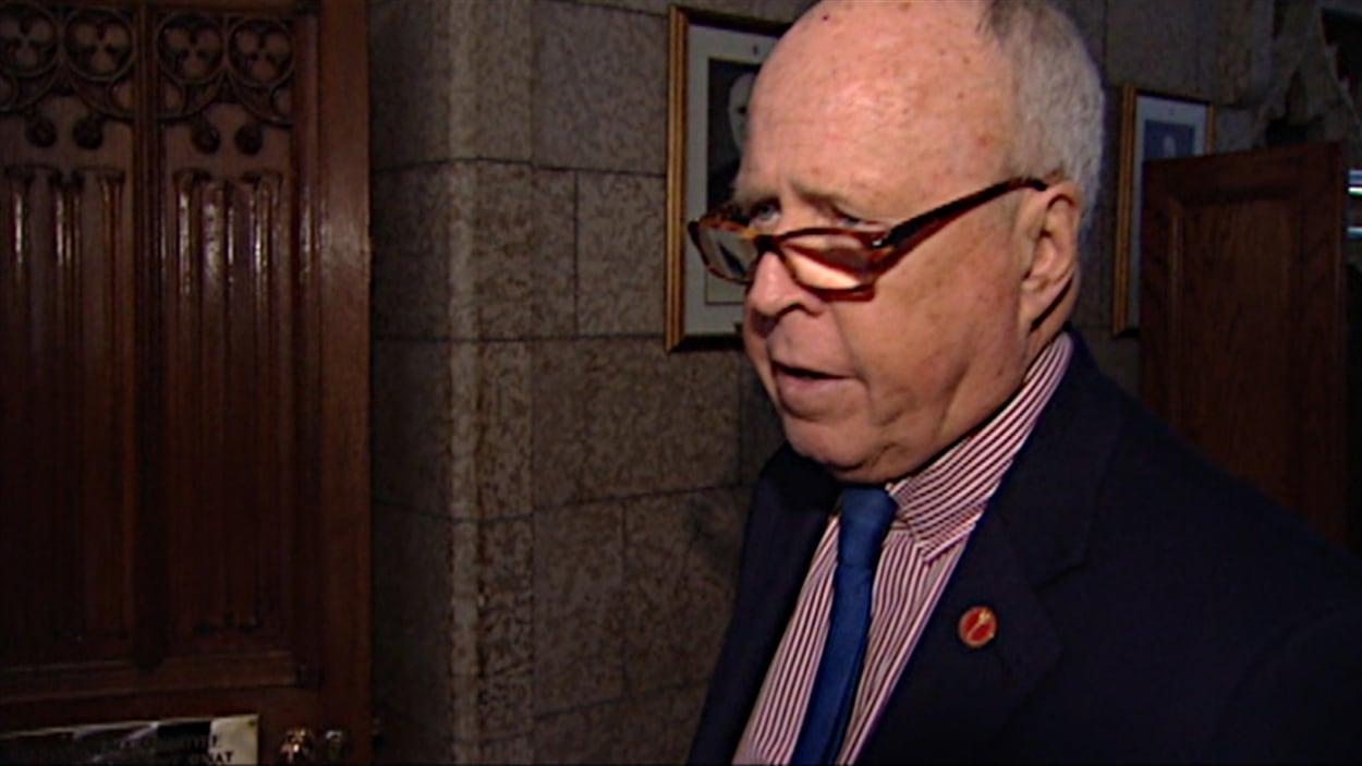 Le sénateur libéral Colin Kenny (archives).