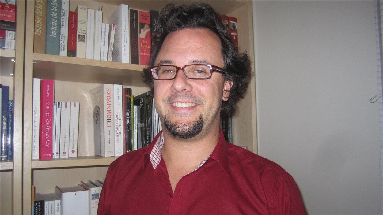 L'auteur Sébastien Vincent