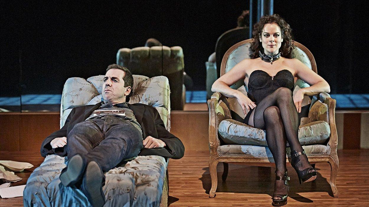 L'ancien député fédéral a adoré la pièce « La Vénus au vison » présenté cet automne à la compagnie Jean Duceppe.