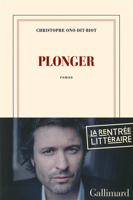 La couverture de Plonger, le roman de Christophe Ono-dit-Biot