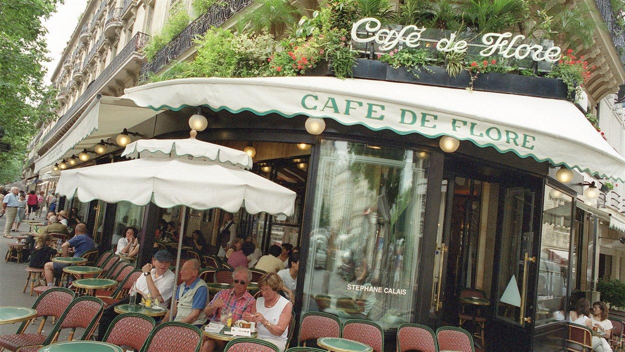La devanture du Café de Flore, à Paris (archives)