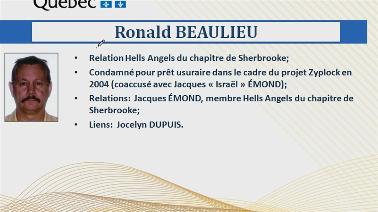 Fiche de Ronnie Beaulieu