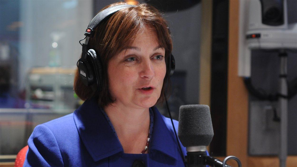 Julie Miville-Dechêne, présidente du Conseil du statut de la femme