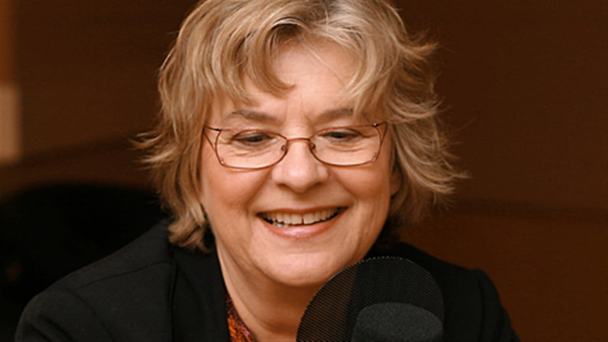 L'auteure Arlette Cousture en 2010